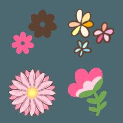 色々な花♡絵文字詰め合わせセット