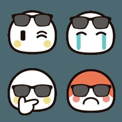 シンプルな絵文字2 【サングラス】