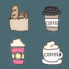 コーヒーとカフェの絵文字