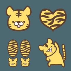 可愛い虎の絵文字
