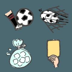 サッカーの絵文字_
