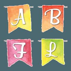 Flag Garland Emoji