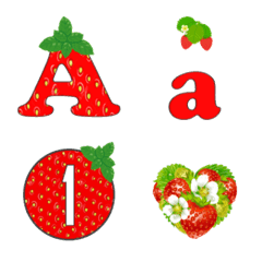 fruits(strawberry) emoji