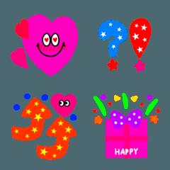 ポップ&カラフル☆★Happy**