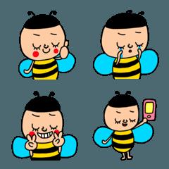 ミツバチさん絵文字セットパック