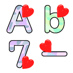 Deco-Moji(Alphameric):Light Color Vol.1