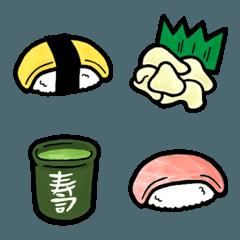 食べ物 絵文字 《 はらぺこ寿司 》