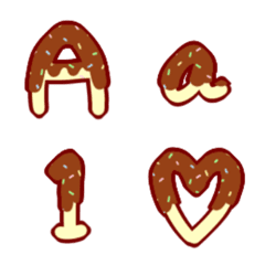 チョコバナナ英数字