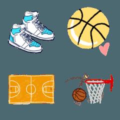 バスケットボールの絵文字です
