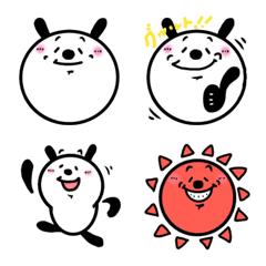 emoji of shoji's panda