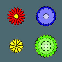 いろいろなお花の絵文字