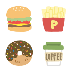 ゆたぽんの絵文字(食べ物)