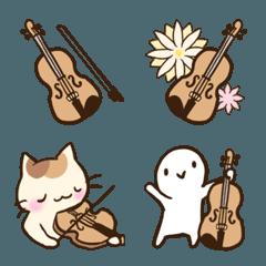 シンプルなバイオリンの絵文字