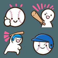 シンプルな野球の絵文字