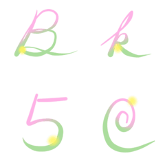 Stina@Spring Light Englist Emoji