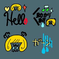 シンプル 絵文字 サファイア 2