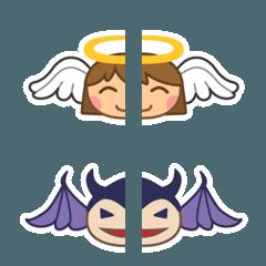 【心の声】天使と悪魔【心の葛藤】