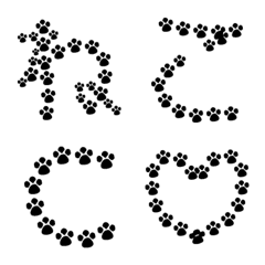 Cat Fonts Emoji (Japanese and English)