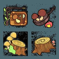 R:メルヘンなキノコの森