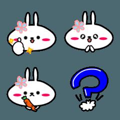 ぺたんこウサギ。