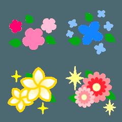 かわいいお花の絵文字4
