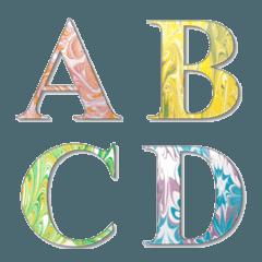 Marble (watercolor) Emoji
