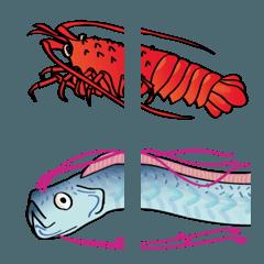 海の生き物、水の生物、リアルにつながる