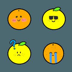 柑橘類とかの絵文字
