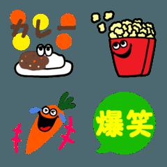 ポップでカラフル♡食べ物**