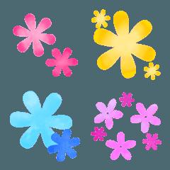 かわいいお花の絵文字5