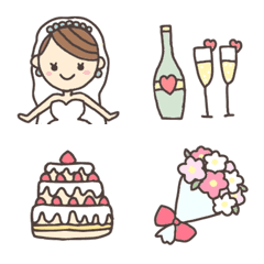結婚式や誕生日に♪使いやすいお祝い絵文字