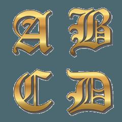 OLD English Emoji