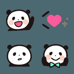 パンダ&吹き出し付きミニ絵文字セット*