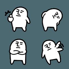【可愛い】白くてキモい絵文字【可愛い】