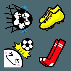 サッカー絵文字