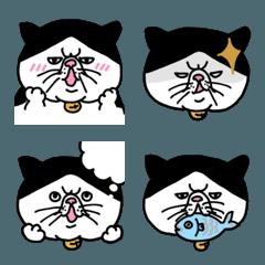 ぽっちゃり猫の絵文字