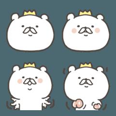 王様はクマの絵文字