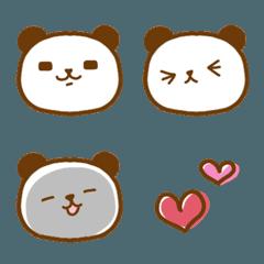 パンパン パンダの絵文字①