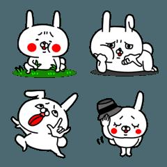 うぇーいうさぎの全力絵文字3(全身編)