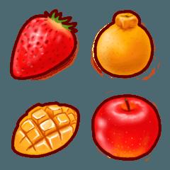 果物の絵文字