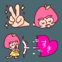 りんごのふじこ絵文字3