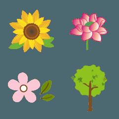 森林システム - 花、草、木