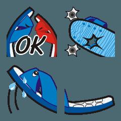 Big blue slipper guy