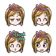 Amei's daily expression stickers