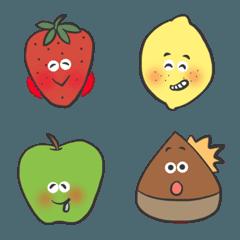 フルーツ大好き絵文字