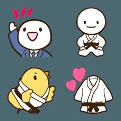 シンプルな柔道の絵文字