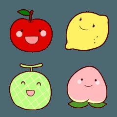 毎日使える!かわいい果物絵文字