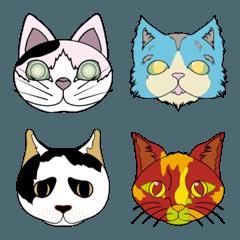 個性的猫の絵文字