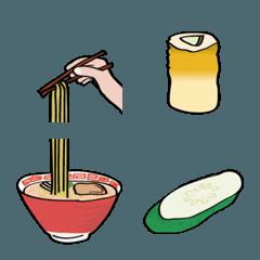 懐かしい食材や料理やお弁当などの絵文字