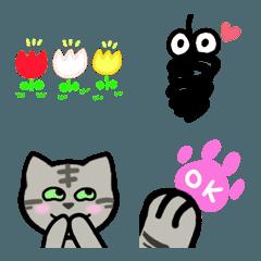 ❤猫と顔文字と記号❤